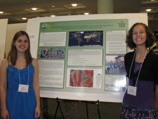 High school students present at Undergraduate Research Symposium