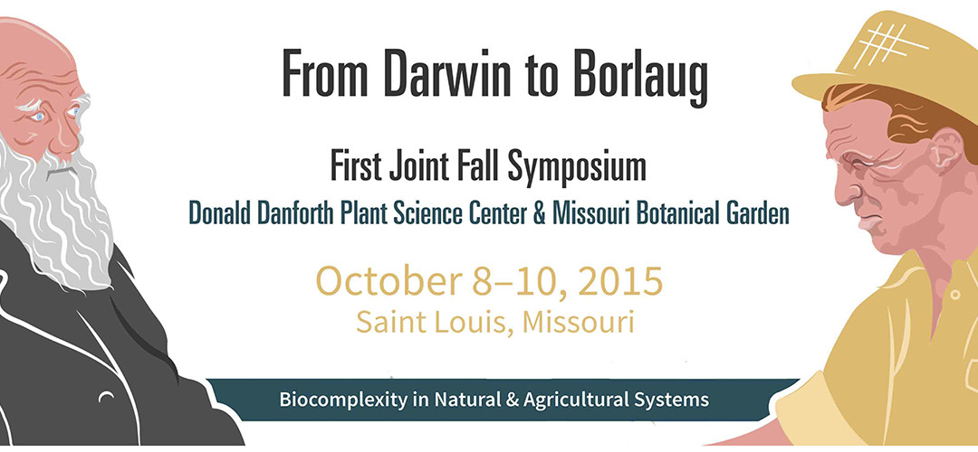 Chris, Dilys and Joe present at Danforth Plant Science Center-Missouri Botanical Garden Joint Symposium