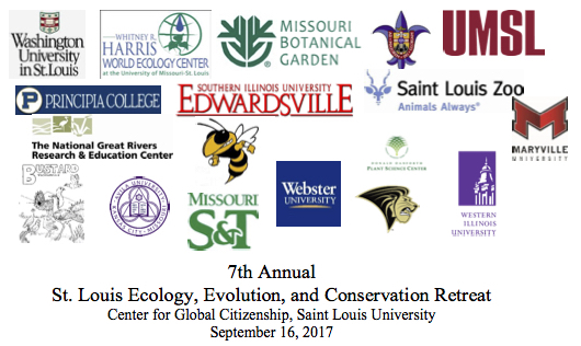 Dilys presents at the 7th Annual St. Louis Ecology, Evolution & Conservation Retreat